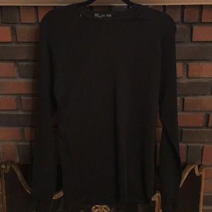 NEW Zara Muscle fit long sleeve crew neck sweater